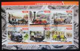 Poštovní známky Džibutsko 2015 Historické lokomotivy Mi# N/N