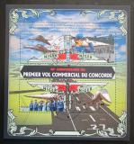 Poštovní známky Niger 2016 Concorde, 40. výročí Mi# 4072-75 Kat 13€