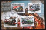 Poštovní známky Šalamounovy ostrovy 2013 Parní lokomotivy Mi# 1671-74