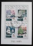 Poštovní známky Šalamounovy ostrovy 2013 Plachetnice Mi# 2342-45 Kat 9.50€