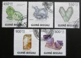 Poštovní známky Guinea-Bissau 2009 Minerály Mi# 4396-4400 Kat 14€