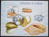 Poštovní známka Guinea-Bissau 2009 Mušle Mi# Block 731 Kat 14€