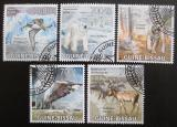 Poštovní známky Guinea-Bissau 2009 Fauna Mi# 4420-24 Kat 14€