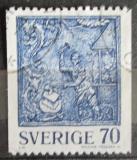 Poštovní známka Švédsko 1977 Lidové umění Mi# 992
