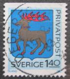 Poštovní známka Švédsko 1982 Znak Öland Mi# 1190