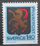 Poštovní známka Švédsko 1982 Znak Hälsingland Mi# 1192