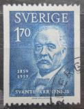 Poštovní známka Švédsko 1959 Svante Arrhenius, vědec Mi# 454 C