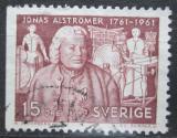 Poštovní známka Švédsko 1961 Jonas Alströmer Mi# 473 Dl