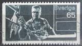 Poštovní známka Švédsko 1972 Sklář Mi# 749