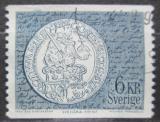 Poštovní známka Švédsko 1972 Stará mince Mi# 757