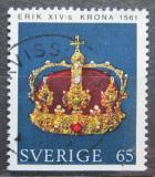 Poštovní známka Švédsko 1971 Královská koruna Mi# 725 Du