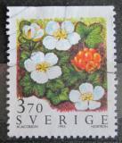 Poštovní známka Švédsko 1995 Ostružiník moruška Mi# 1884