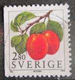 Poštovní známka Švédsko 1994 Švestky Mi# 1809