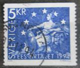Poštovní známka Švédsko 1994 Evropská spolupráce Mi# 1811