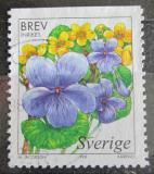Poštovní známka Švédsko 1998 Violka bahenní Mi# 2060