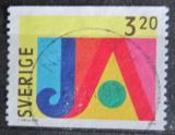 Poštovní známka Švédsko 1994 Pozdravy Mi# 1852