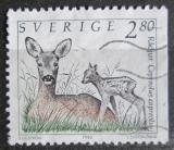 Poštovní známka Švédsko 1992 Srnec obecný Mi# 1701 D
