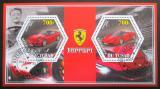 Poštovní známky Čad 2014 Ferrari Mi# N/N