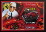 Poštovní známka Čad 2014 Ferrari Mi# N/N