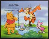 Poštovní známka Antigua 1998 Disney, Medvídek Pú Mi# Block 391