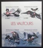 Poštovní známky Burundi 2012 Supi neperf., vzácné Mi# 2798-2801 B