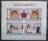 Poštovní známky Burundi 2013 Královna Alžběta II. neperf. Mi# 3173-76 B
