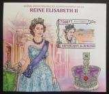 Poštovní známka Burundi 2013 Královna Alžběta II. neperf. Mi# Block 359 B