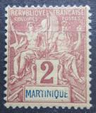 Poštovní známka Martinik 1892 Koloniální alegorie Mi# 27