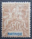 Poštovní známka Martinik 1892 Koloniální alegorie Mi# 34 Kat 33€