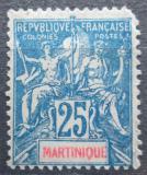 Poštovní známka Martinik 1899 Koloniální alegorie Mi# 42 Kat 10€