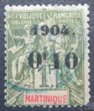 Poštovní známka Martinik 1904 Koloniální alegorie přetisk Mi# 54 Kat 20€
