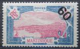 Poštovní známka Martinik 1922 Fort-de-France přetisk Mi# 109