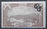 Poštovní známka Martinik 1925 Fort-de-France přetisk Mi# 110
