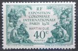 Poštovní známka Martinik 1931 Koloniální výstava Mi# 122 Kat 6€