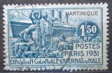 Poštovní známka Martinik 1931 Koloniální výstava Mi# 125 Kat 5.50€