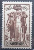 Poštovní známka Martinik 1937 Výstava v Paříži Mi# 164