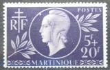 Poštovní známka Martinik 1944 Červený kříž Mi# 202