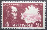 Poštovní známka Martinik 1945 Victor Schoelcher, politik Mi# 210