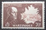 Poštovní známka Martinik 1945 Victor Schoelcher, politik Mi# 212