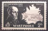 Poštovní známka Martinik 1945 Victor Schoelcher, politik Mi# 217