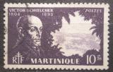 Poštovní známka Martinik 1945 Victor Schoelcher, politik Mi# 223