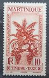 Poštovní známka Martinik 1933 Ovoce, doplatní Mi# 13