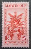 Poštovní známka Martinik 1933 Ovoce, doplatní Mi# 15
