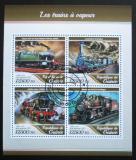 Poštovní známky Guinea 2017 Parní lokomotivy Mi# 12615-18 Kat 20€