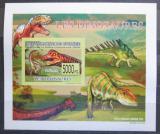 Poštovní známka Guinea 2009 Dinosauři DELUXE neperf. Mi# 6390 B Block