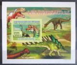Poštovní známka Guinea 2009 Dinosauři DELUXE neperf. Mi# 6392 B Block