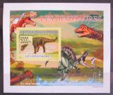 Poštovní známka Guinea 2009 Dinosauři DELUXE neperf. Mi# 6394 B Block