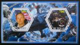 Poštovní známky Čad 2015 Průzkum vesmíru Mi# N/N
