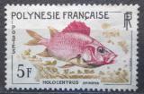 Poštovní známka Francouzská Polynésie 1962 Holocentrus spinifer Mi# 24
