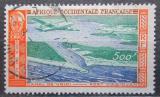 Poštovní známka Francouzská Západní Afrika 1951 Letadlo nad Abidjanem Mi# 61